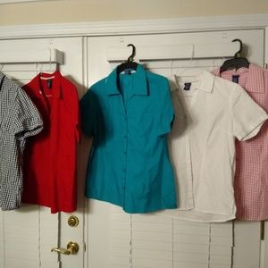 5 (FIVE) Basic Editions Women's Short Sleeve